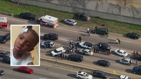 Suspect in murder of 7-year-old Jaslyn Adams shot by Chicago police after chase on I-290