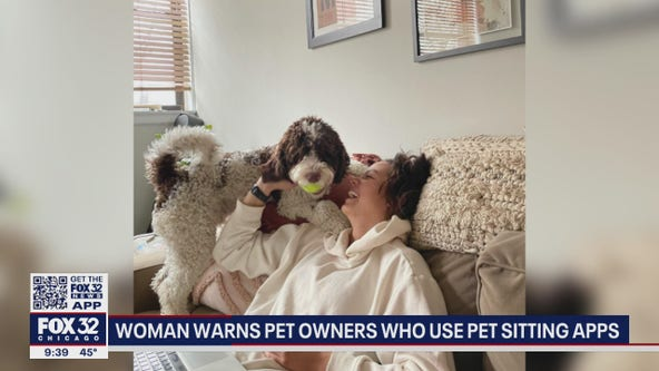 Chicago woman issues warning about pet sitting apps after her dog goes missing
