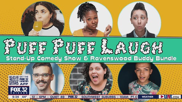 Puff Puff Laugh comedy show looks to bring levity to trying times