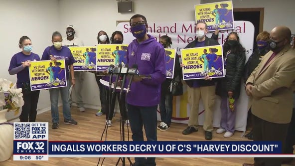 South suburban workers demand higher wages, saying other Chicago employees get paid more