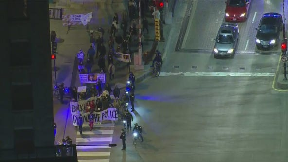 Live updates: Protesters gather in Chicago following release of video showing fatal shooting of Adam Toledo