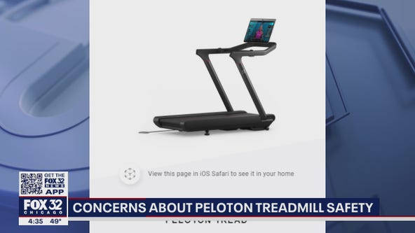 Concerns about Peloton treadmill safety