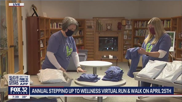 Annual Stepping up to Wellness Virtual Run and Walk takes place on April 25