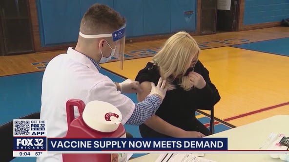 Come and get it: Chicago now has enough vaccine to meet demand