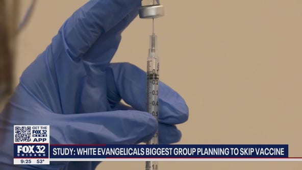Study: White evangelicals biggest group planning to skip vaccine