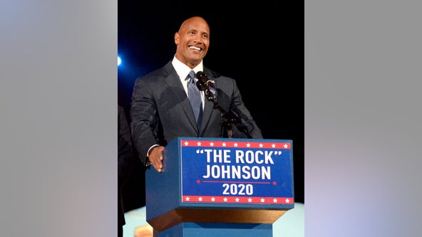 Dwayne 'The Rock' Johnson further teases presidential run, talks 'goal' of uniting the country