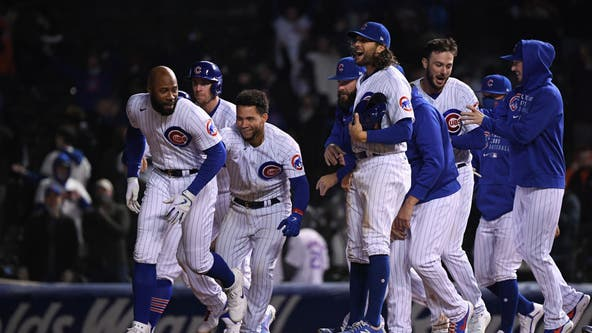 Cubs beat Mets 4-3 on Heyward's walk-off single in 10th