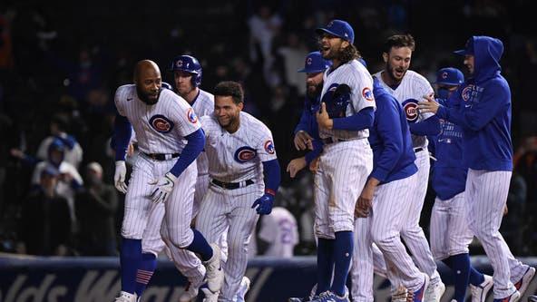 Cubs beat Mets 4-3 on Heyward's walk-off single in 10th