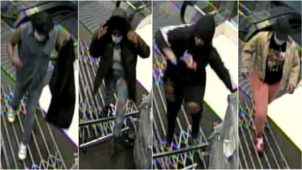 Police release photos of burglary suspects at Nordstrom on the Mag Mile