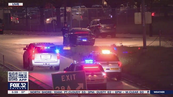 3 shot, 1 fatally, Eisenhower Expressway shooting