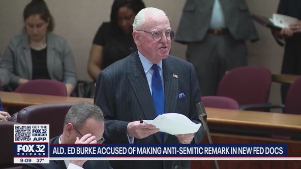 Alderman Ed Burke accused of making anti-Semitic remark on tape