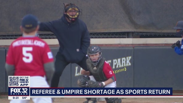 Chicago area sees shortage of baseball, softball umpires due to pandemic
