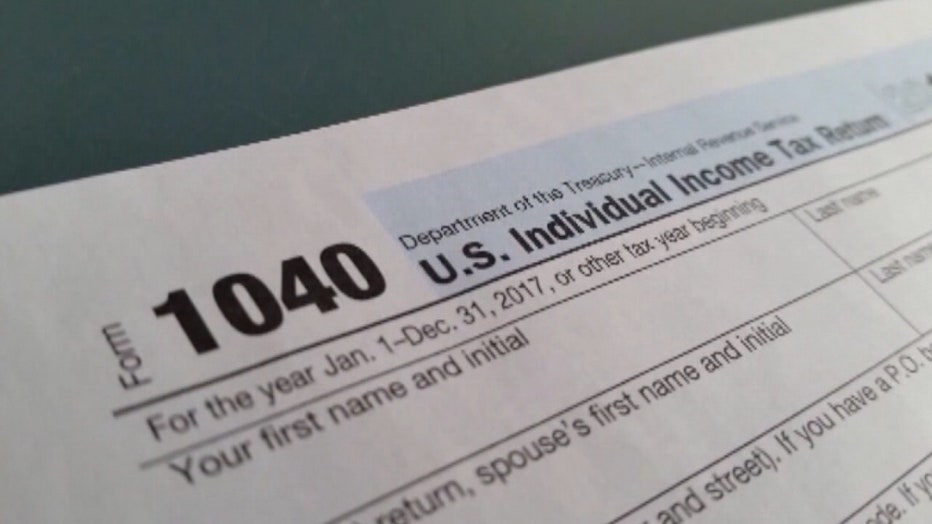 IRS income tax form