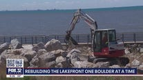 Major effort underway to protect Portage Lakefront after years of erosion