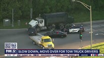 New campaign warns of daily dangers facing tow truck drivers