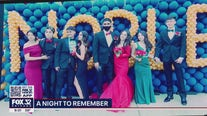 Noble Charter students attend prom at Soldier Field