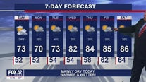 Sunday morning forecast for Chicagoland on May 16