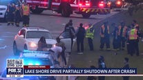 One person killed in crash on Lake Shore Drive