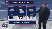 Saturday morning forecast for Chicagoland on May 15
