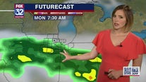 Rain expected on Monday, with warmer weather in Chicago and suburbs later in the week