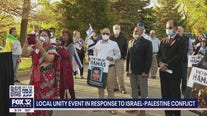 Chicago area unity event held in response to Israel-Palestine conflict