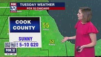 10 p.m. forecast for Chicagoland on May 10