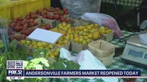 Andersonville farmers market reopened Wednesday
