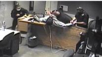 Surveillance video shows man attacking deputies at Skokie Courthouse