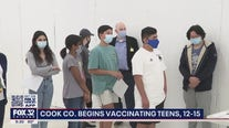 Chicago area children begin receiving coronavirus vaccine