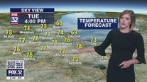 10 p.m. forecast for Chicagoland on May 17
