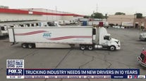 Trucking industry needs 1M new drivers in 10 years