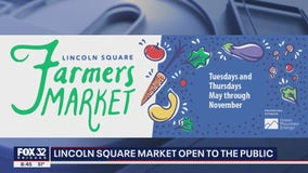 Lincoln Square Farmers Market reopens to the public