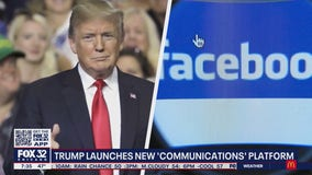 Trump launches his own 'communications' platform in wake of Facebook spat