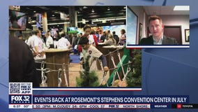 Events to return to Rosemont's Stephens Convention Center in July