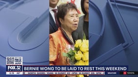 Bernie Wong to be laid to rest this weekend
