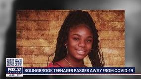 Bolingbrook teen dies from COVID-19