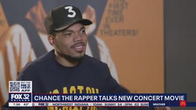 Chance the Rapper's new concert film hits Chicago theaters this week