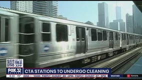 CTA stations to undergo cleaning in preparation for riders to return after the pandemic