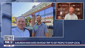 Geneva man goes on 68 city road trip to get people to shop local