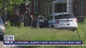 Man charged with shooting 2 Chicago police officers in Lawndale