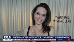 Angelina Jolie talks new action thriller 'Those Who Wish Me Dead'