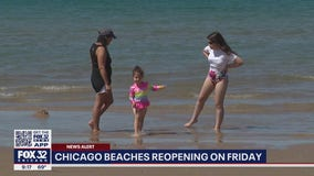 Chicago beaches officially reopening Friday, Pride Parade to return in October