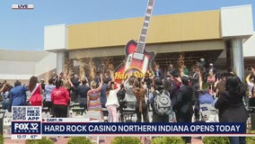 Hard Rock Casino in Gary, Indiana officially opens