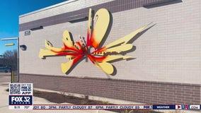 CTA debuts new art at Austin bus stop