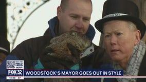 Woodstock says goodbye to mayor and longtime groundhog whisperer