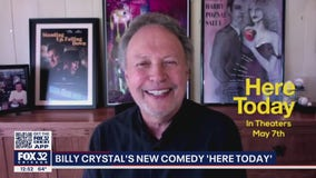 Actor Billy Crystal's new comedy 'Here Today' releases Friday