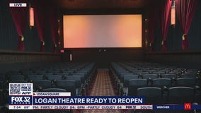 Logan Theatre to resume screenings Friday after being closed for over a year