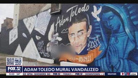Adam Toledo mural vandalized in Little Village