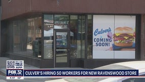 Culvers hiring 50 employees for new restaurant in Ravenswood