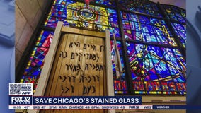 Chicago Loop Synagogue fighting to preserve stained glass windows during pandemic